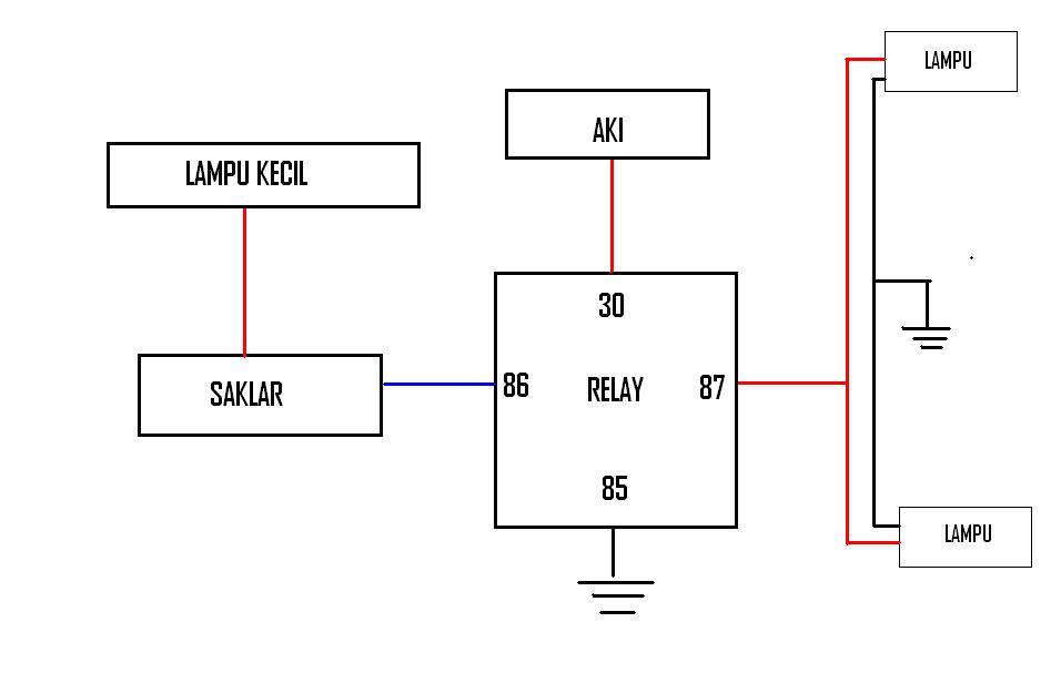 Wiring Diagram Klakson  U2013 Site Title